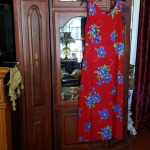 Stonebridge floral summer maxi dress